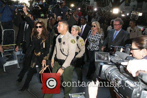 La Toya Jackson, Kathy Hilton and Rick Hilton 2