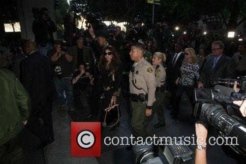 La Toya Jackson, Kathy Hilton and Rick Hilton 5