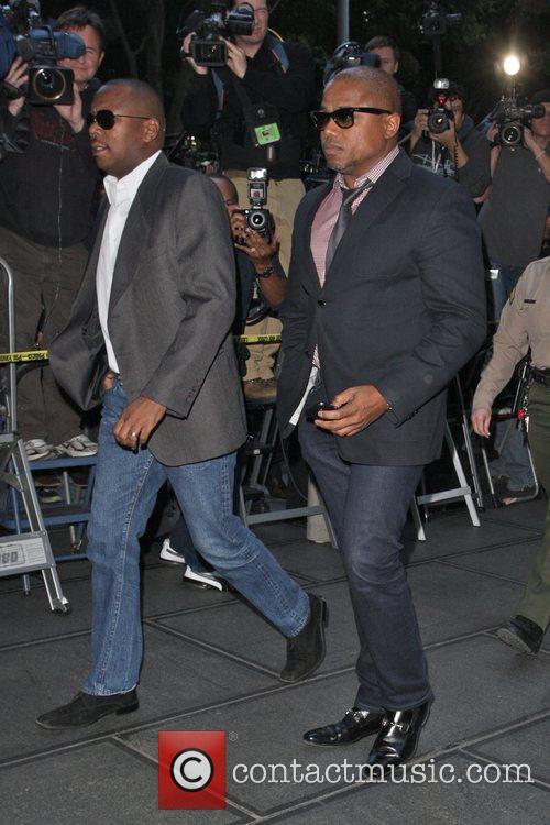 Randy Jackson Arrivals at Los Angeles Superior Court...