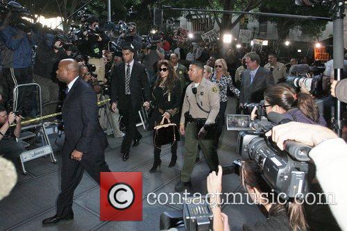 La Toya Jackson, Kathy Hilton and Rick Hilton 6