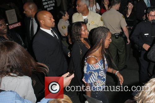 Jackson family members Departures at Los Angeles Superior...