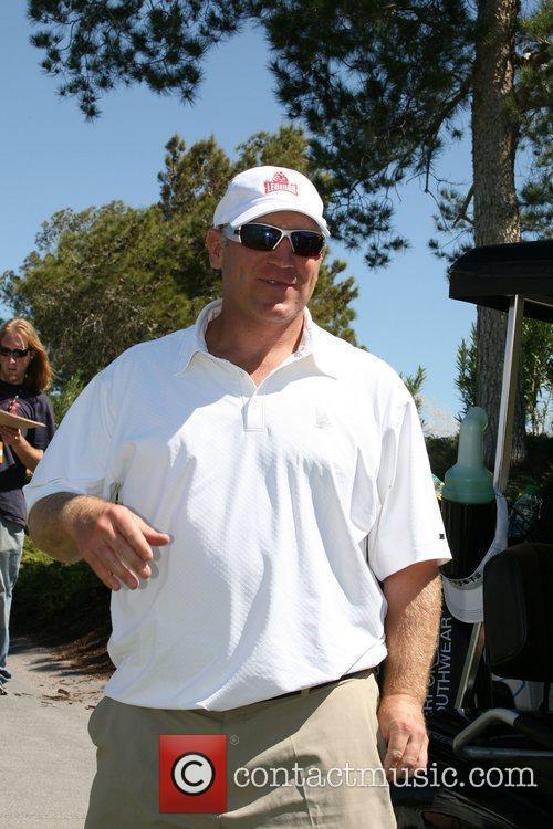 Former NHL player Brett Hull at the Michael...