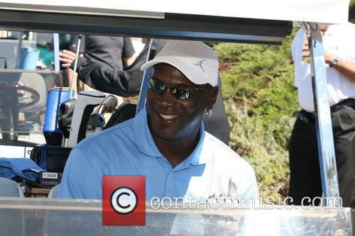 Michael Jordan at the Michael Jordan Celebrity Invitational...