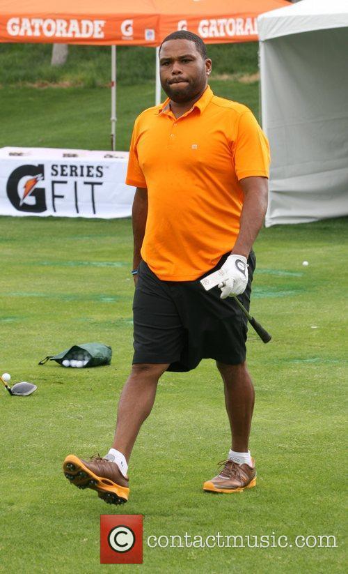 Anthony Anderson Michael Jordan Celebrity Invitational Golf Tournament...