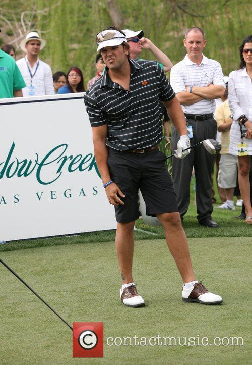 Mike Piazza Michael Jordan Celebrity Invitational Golf Tournament...