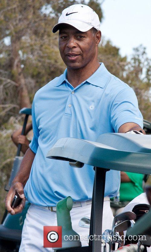 Marcus Allen Michael Jordan Celebrity Invitational Golf Tournament...