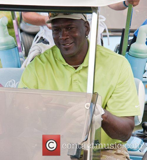 Michael Jordan Celebrity Invitational Golf Tournament at Shadow...
