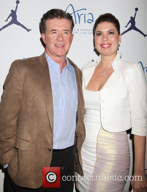 Alan Thicke, Tanya Callau Thicke Michael Jordan Celebrity...