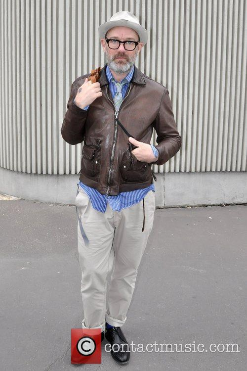 R.E.M. frontman out and about in Paris