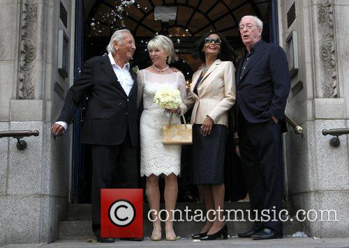 Michael Winner, Michael Caine and Shakira 5