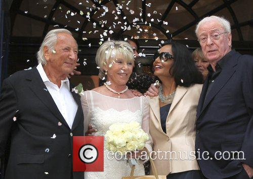 Michael Winner, Michael Caine and Shakira 3