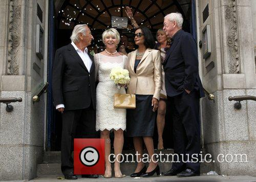 Michael Winner, Michael Caine and Shakira 8
