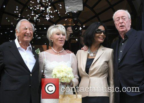 Michael Winner, Michael Caine and Shakira 6
