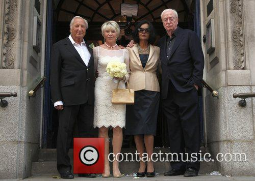 Michael Winner, Michael Caine and Shakira 7
