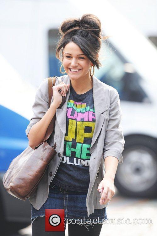 Michelle Keegan leaving Granada Studios in Manchester Manchester,...