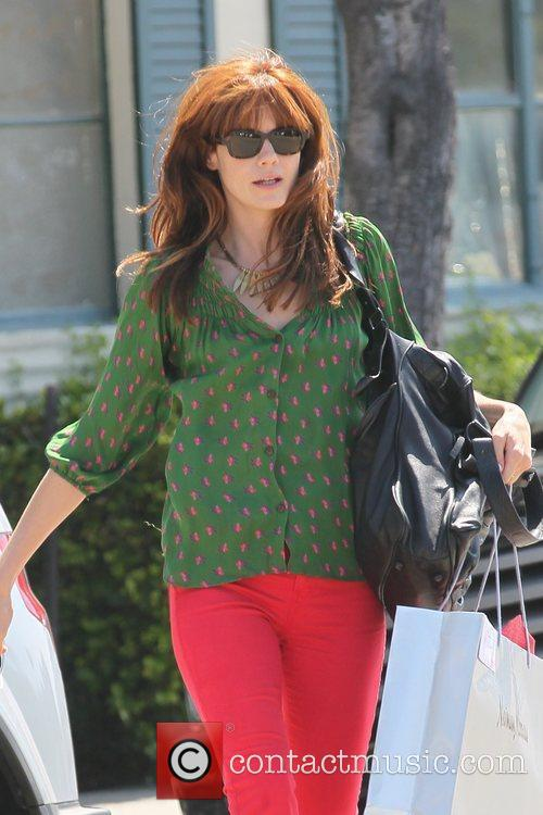 Michelle Monaghan actress shopping in West Hollywood showing...