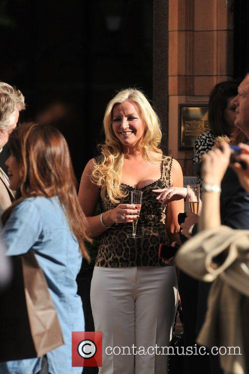 Michelle Mone attends a party in Mayfair London,...