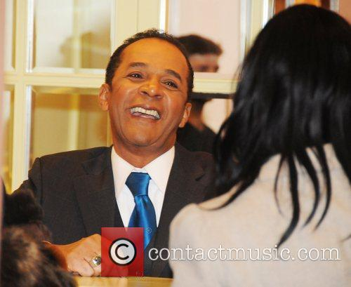 Clifton Davis attends a signing for David E....