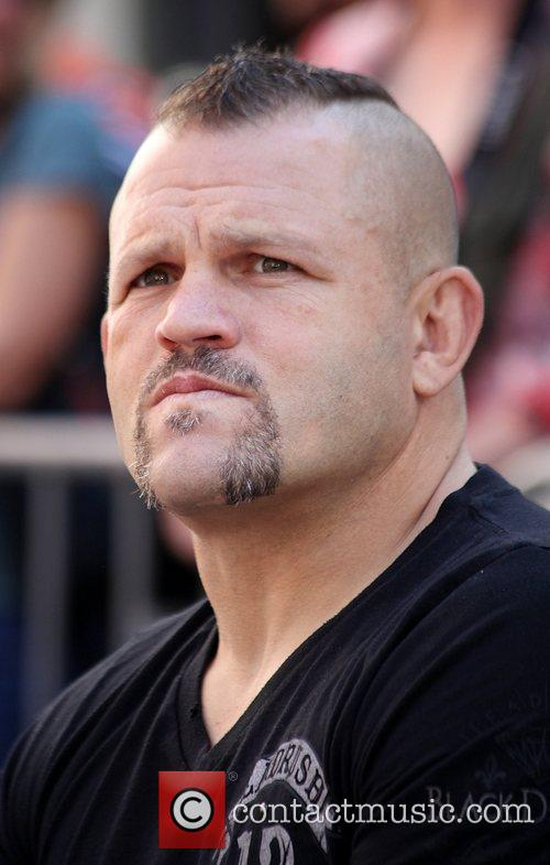 Chuck Liddell at the Hand and Footprint Ceremony...