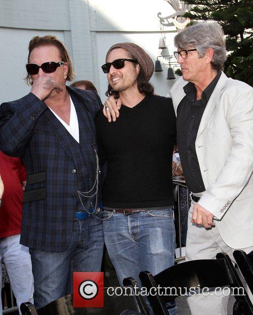 Mickey Rourke, Keaton Simons and Eric Roberts Mickey...