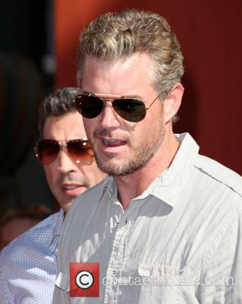 Eric Dane at the Hand and Footprint Ceremony...
