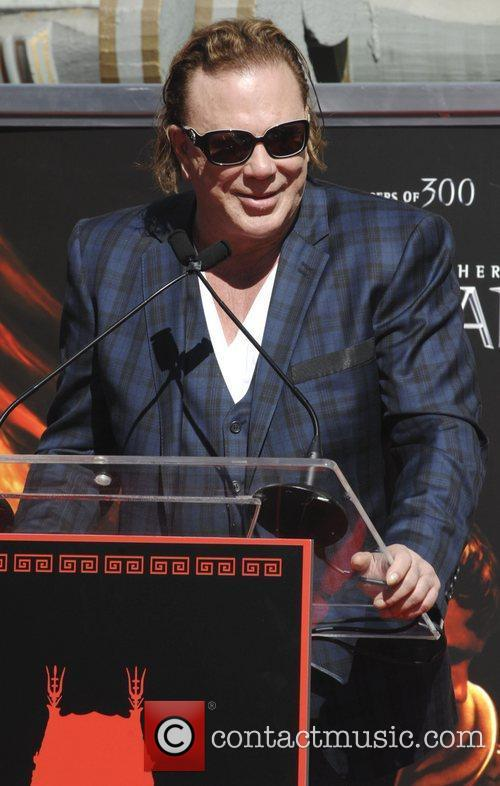 Mickey Rourke Mickey Rourke is honoured with a...