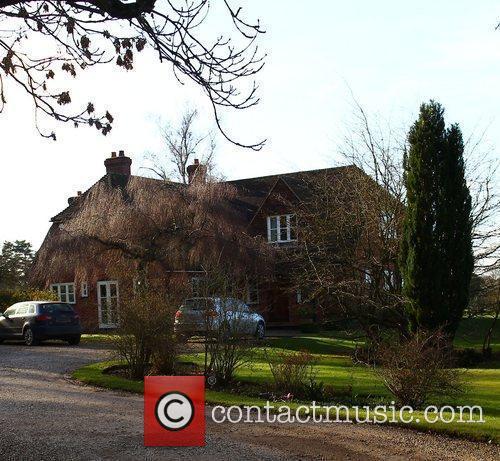 General views of Kate Middleton's family residence near...