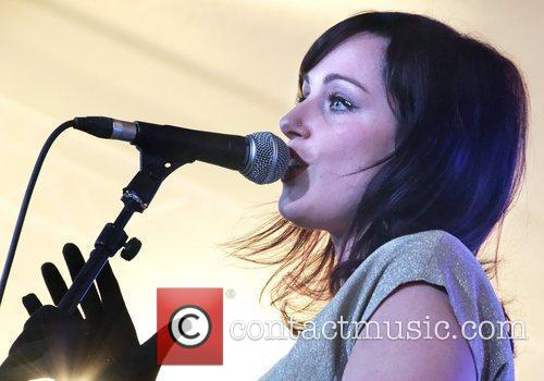 Lizzy Parks performs live in concert at Morrisons...