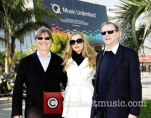 Graham Preskett, artist Marina Lazlo and Producer Robin...