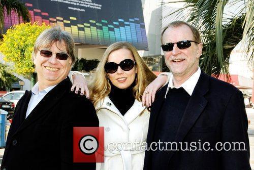 Graham Preskett, artist Marina Lazlo and Producer Robin...