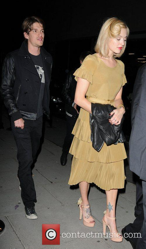 Fearne Cotton  leaving Midsummer Night Dream Party...