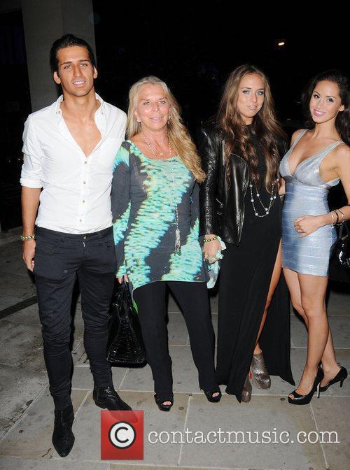 Leaving Midsummer Night Dream Party held at Playboy...