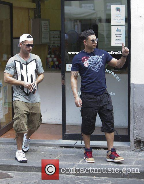 Mike The Situation and Paul Pauly D DelVecchio...