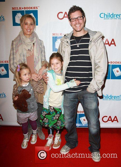Stefano Lassard and family at the 2nd Annual...