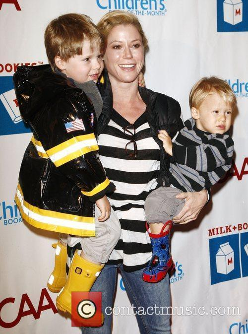 Julie Bowen and sons at the 2nd Annual...