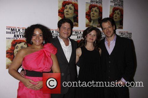 Elisa Bocanegra, Curtis Billings, Maggie Lacey and Darren...