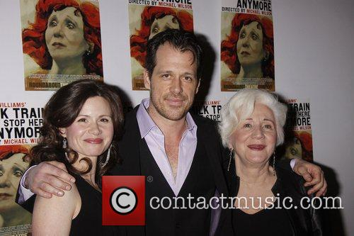 Maggie Lacey, Darren Pettie and Olympia Dukakis...