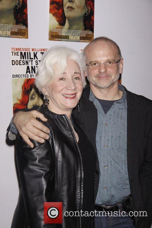 Olympia Dukakis and Michael Wilson 1