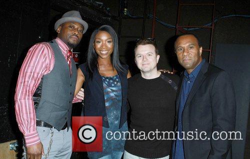 Omar Epps, Brandy Norwood, Kiis FM DJ Jojo...