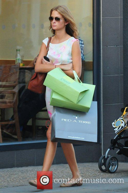 Millie Mackintosh of 'Made in Chelsea' shopping on...