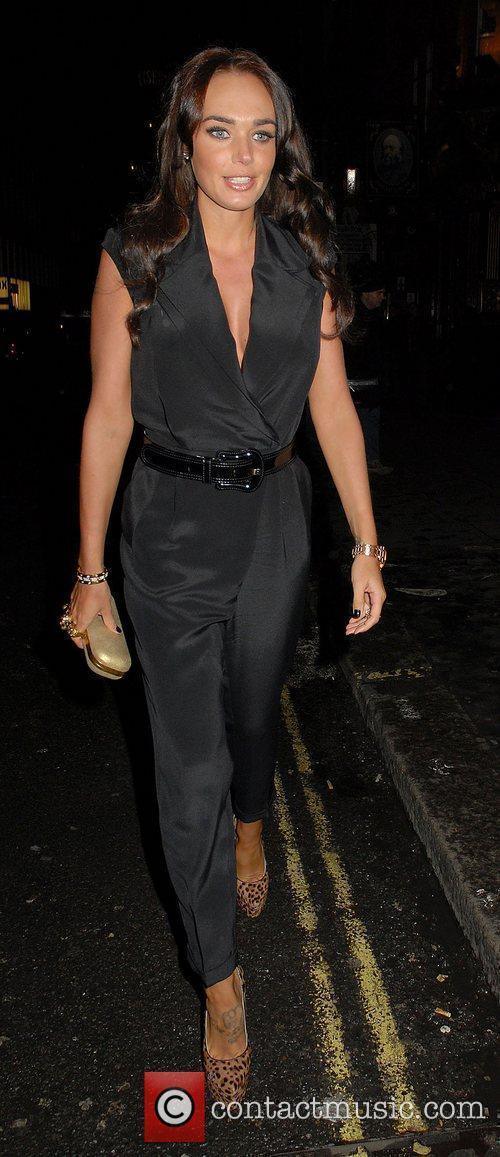Tamara Ecclestone,  at the Million Dollar Quartet...