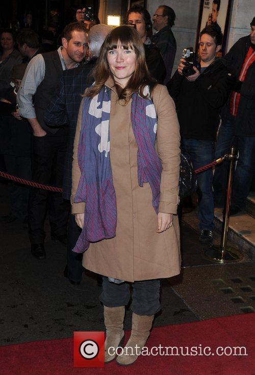 Jessica Hynes Million Dollar Quartet - press night...