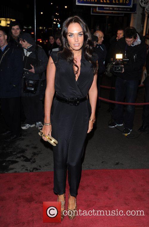 Tamara Ecclestone Million Dollar Quartet - press night...
