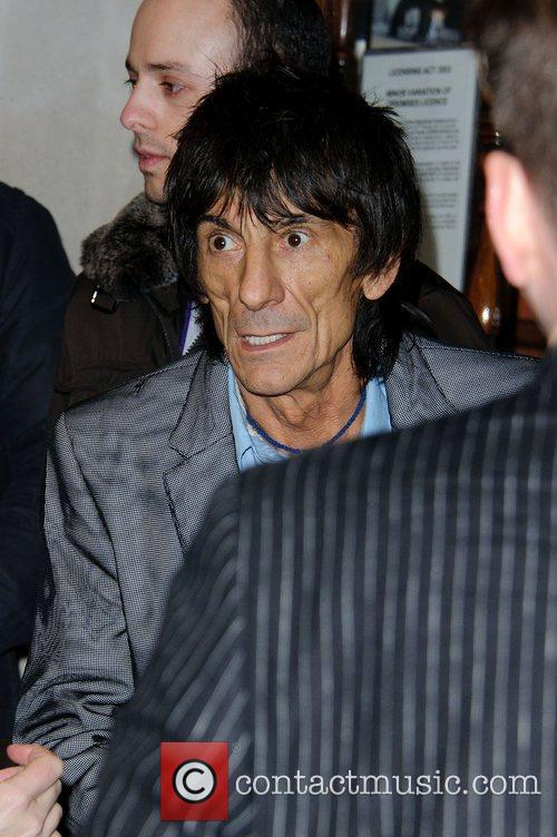 Ronnie Wood and Noel Coward 7