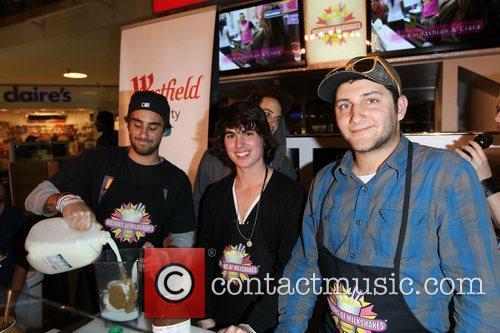 The DigiTour Milkshake launch at Millions Of Milkshakes...
