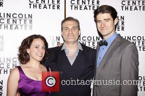 Liz Baltes, Marc Kudisch and Drew Gehling...