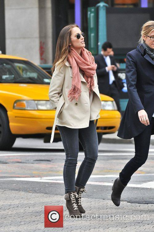 Minka Kelly out and about in Manhattan wearing...