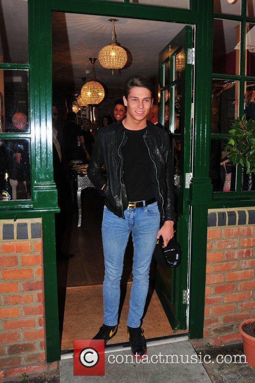 Joey Essex Minnies Boutique launch party Essex, England