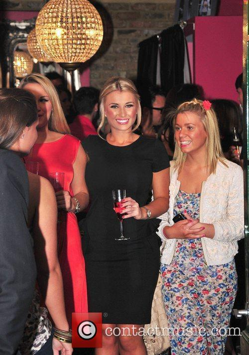 Billie Faiers,  at Minnies Boutique launch party...