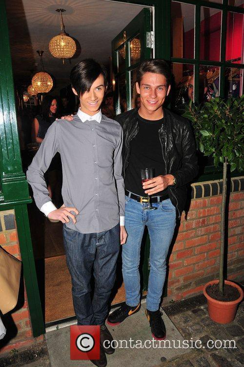 Harry Derbridge and Joey Essex,  at Minnies...